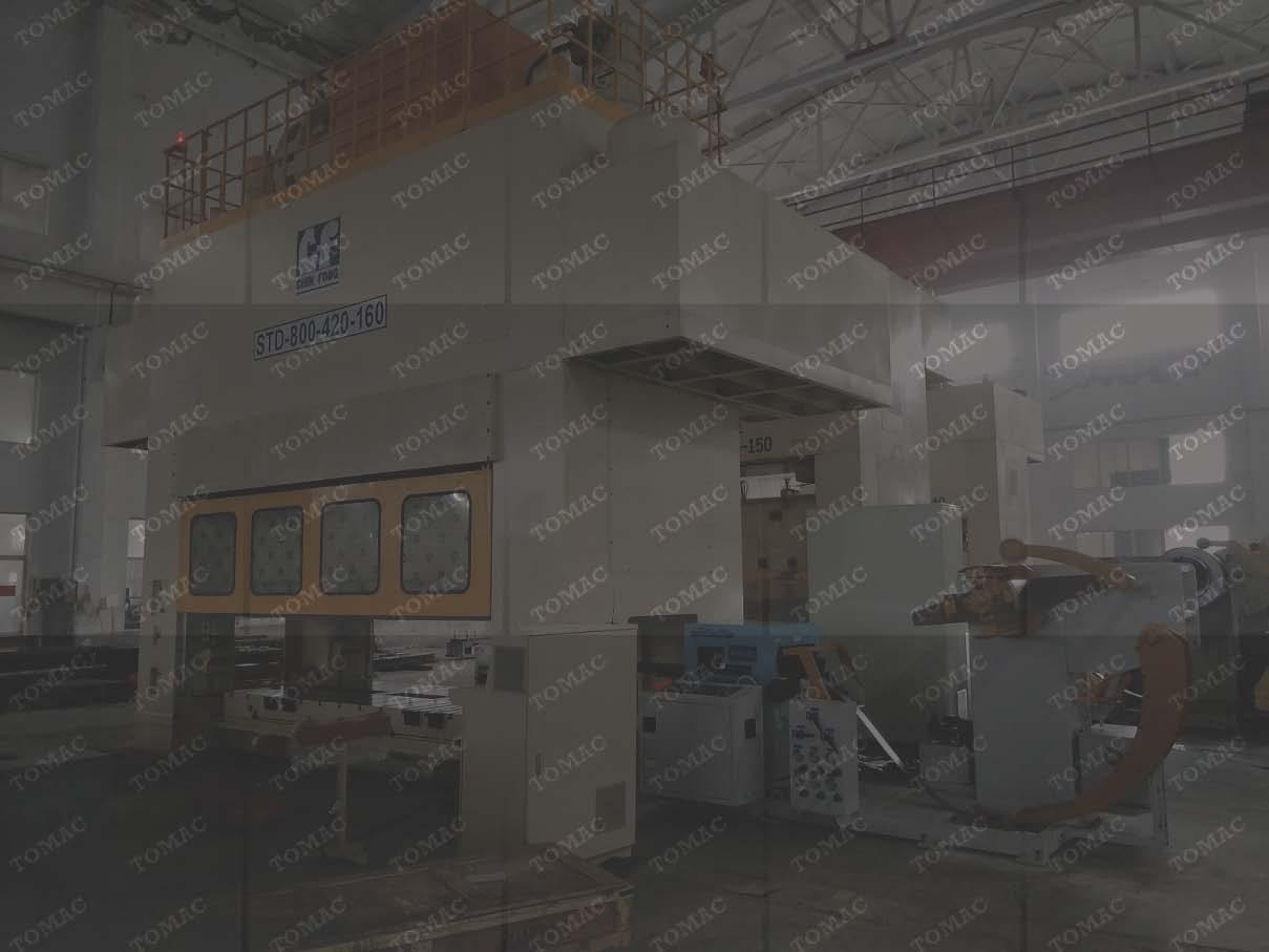 宁波外资客户工厂冲压高档...