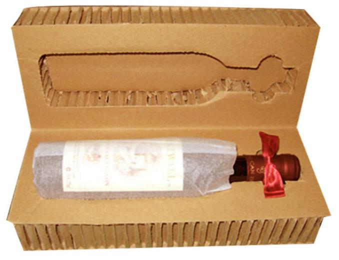 纸蜂窝酒品包装纸蜂窝包装内衬_纸蜂窝包装箱 _纸蜂窝包装衬板_宁波世维安