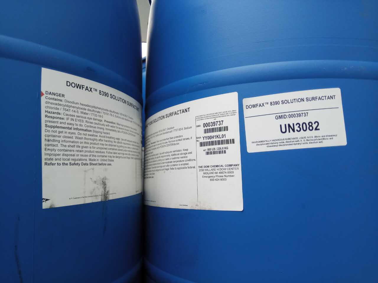 美国陶氏一级代理DOWFAX™ 8390 烷基二苯醚双磺酸盐