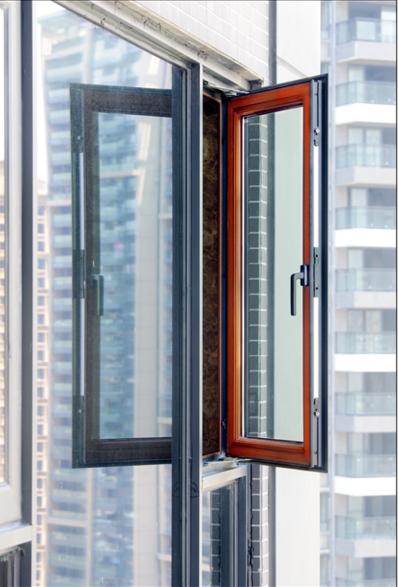 内开窗系列-70铝木复合隔热内平开窗