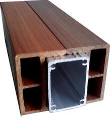 6040铝木双边铝