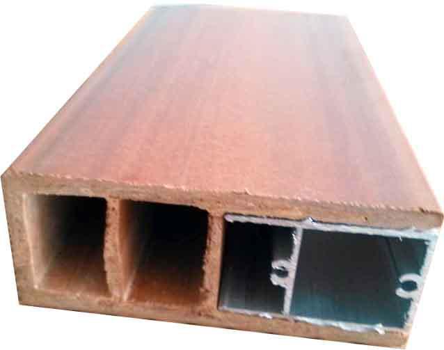 10040铝木单边组合