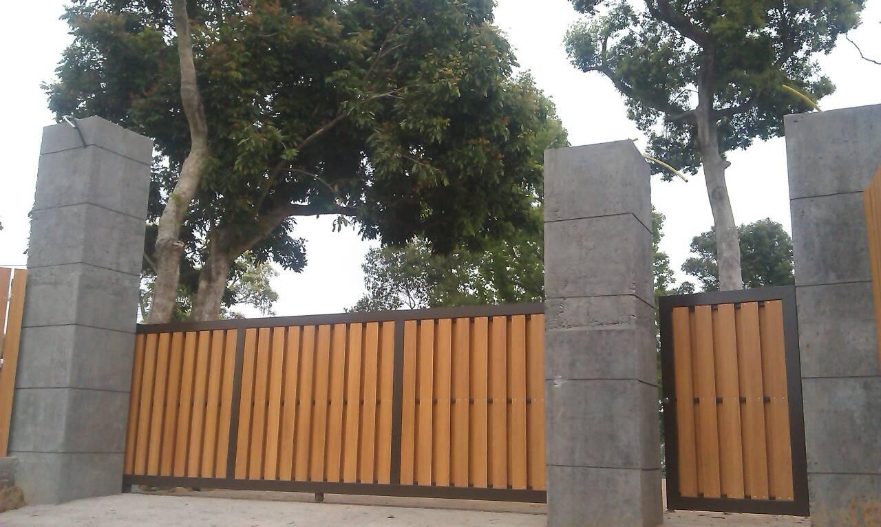 花园小区木塑栅栏