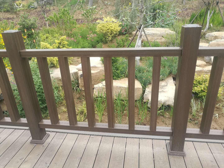 生态湖木塑护栏
