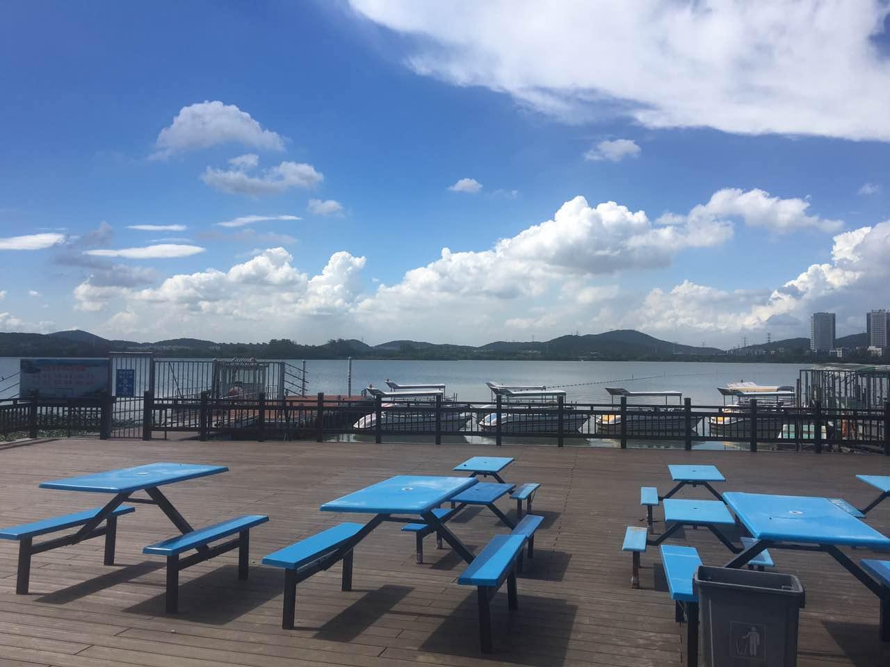 太湖环湖木塑栈道
