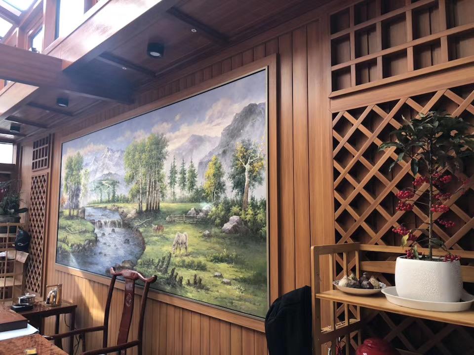 茶室内墙板案例