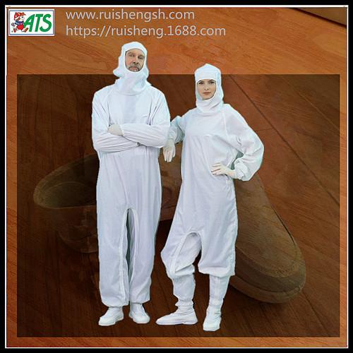 白色食品工作服