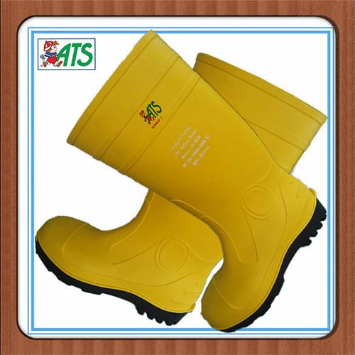 防砸防穿刺黄雨鞋