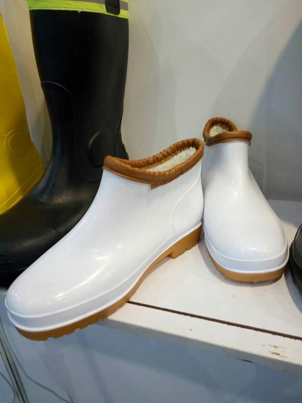 矮筒元宝棉雨鞋