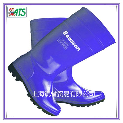 蓝色养殖雨鞋