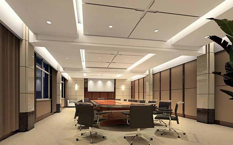 简约风格的办公室装修设计