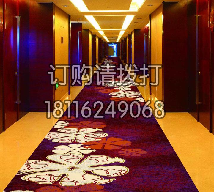 红色酒店过道地毯阿克明...