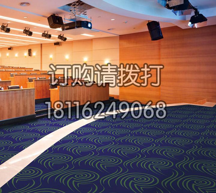 演播厅尼龙印花地毯-0...