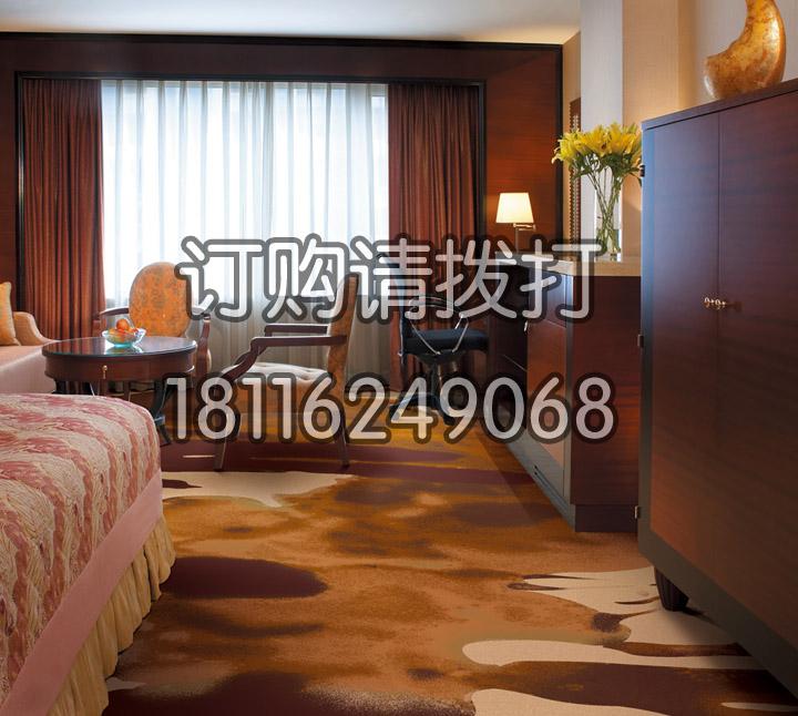 酒店客房皇室印花地毯-...