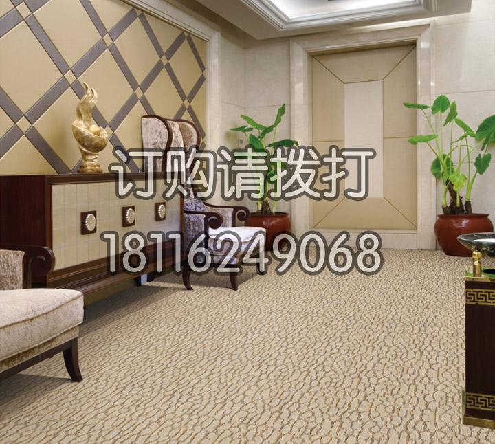 酒店过道电梯口地毯簇绒-006