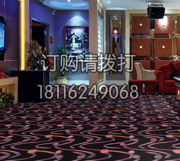 KTV大厅缤纷簇绒地毯-010