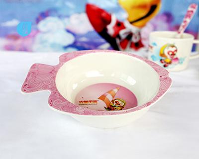 魚形童碗-6100