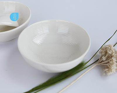 密胺4.8吋內細螺紋碗-6416