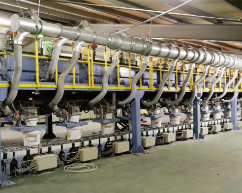 工業秤-刹車片生産線用計量系統