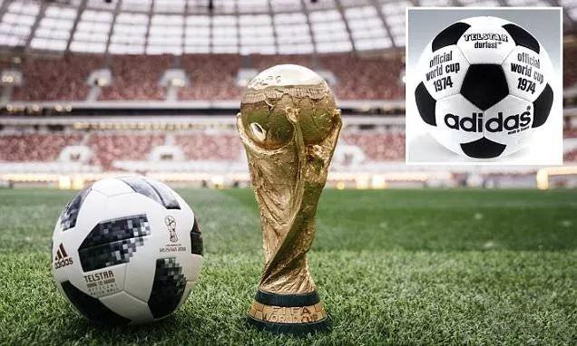 """浅聊2018俄罗斯世界杯比赛用球""""Telstar(电视之星)18"""""""