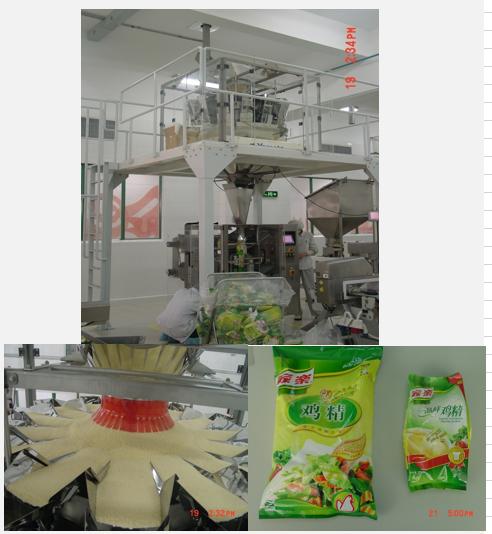 传统食品行业-家乐鸡精生产线