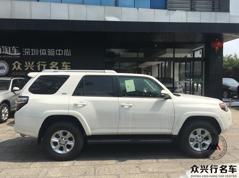 丰田越野车超霸4runner深圳众兴行现车