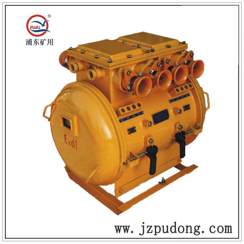 矿用隔爆型双电源双风机真空电磁起动器(双保护智能汉显)QBZ-2x80、120、1140V660V