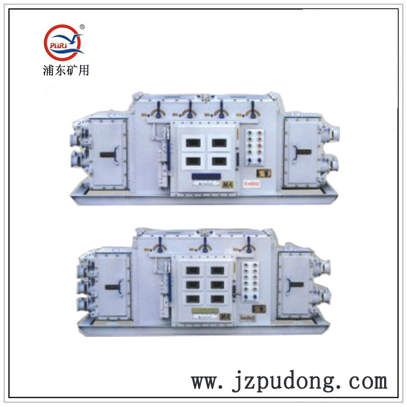 矿用隔爆兼本质安全型组合开关QJZ-1600/660-4、6、8