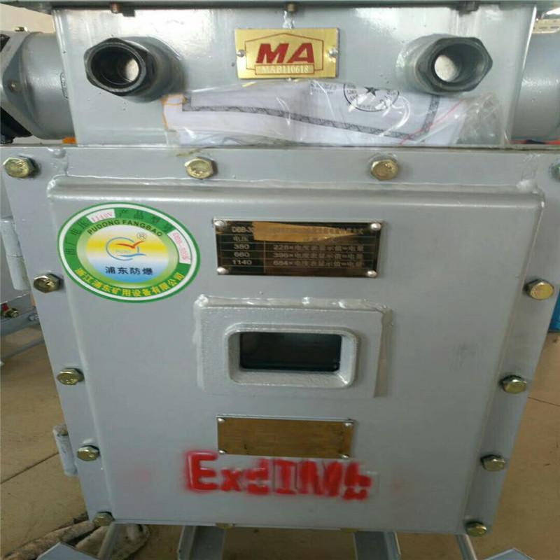 矿用隔爆型电度表箱DBB-400T、300T、200T/1140V/660V