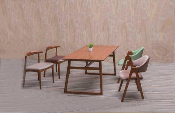 桌椅组合系列