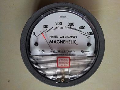 2000-500PA 指针式压差计