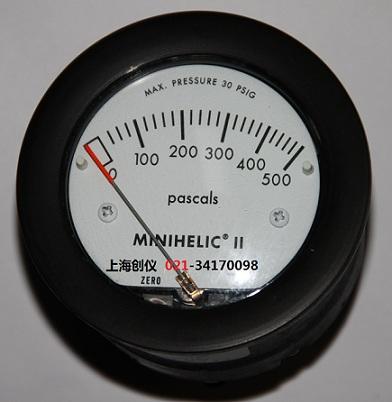 压差表 2-5000-500Pa紧凑型机械压差计
