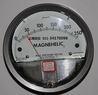 压差表 2000-250PA,机械式压差计