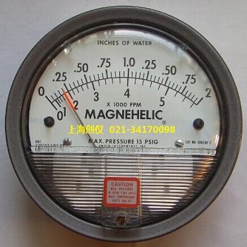 压差表 2002AV Dwyer指针压差式风速表