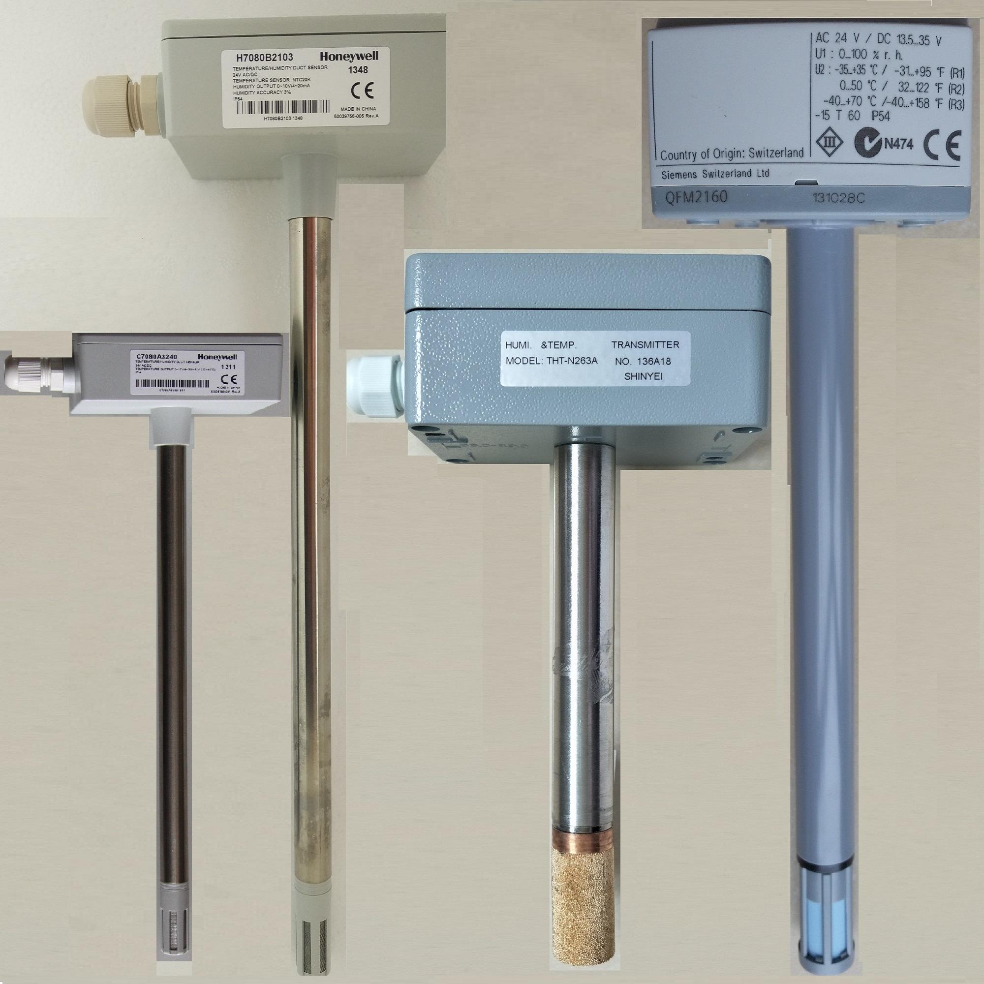 温湿度传感器QFM2160 风管温湿度传感变送器