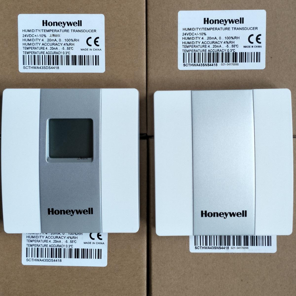 温湿度传感器选HONEYWELL SCTHWA43SNS  SCTHWA43SDS两种