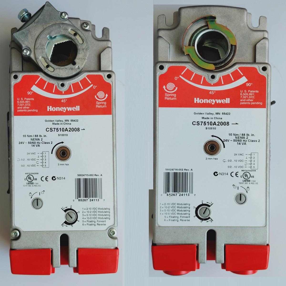 霍尼韦尔CS4105A1002 CS4110A1200 CS7510A2008电动风阀执行器
