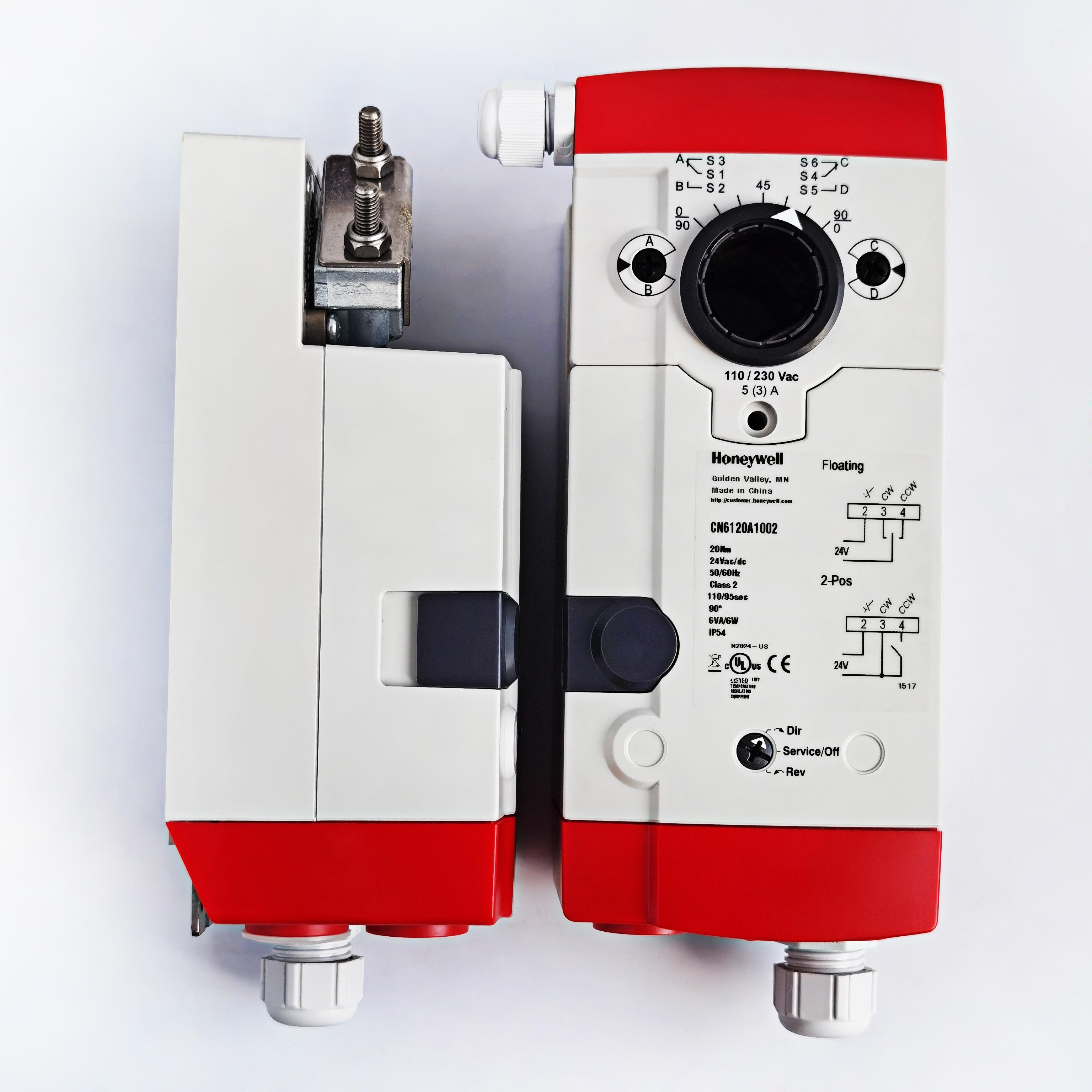CN6120A1002 Honeywell 24V供电20NM 开关型风门执行器