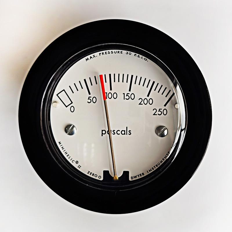 2-5000-250pa 紧凑型机械式指针压差表