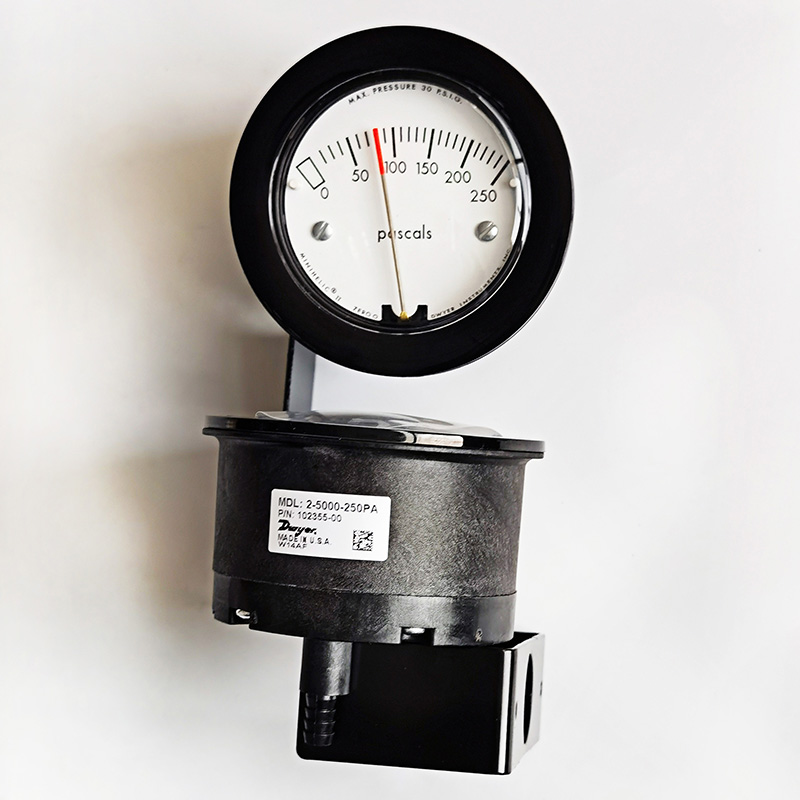 压差表2-5000-250pa紧凑型机械式指针