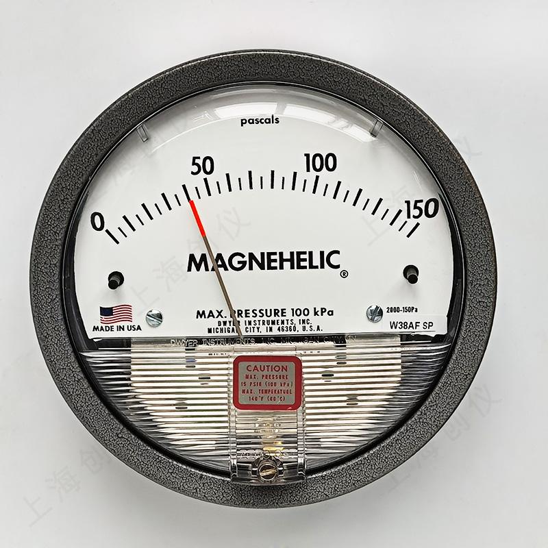 DWYER机械式指针压差表2000-150pa
