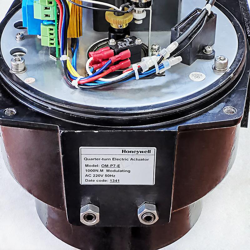 V4ABFW16-350 蝶阀和OM-P7-E 执行器开关型与调节型控制