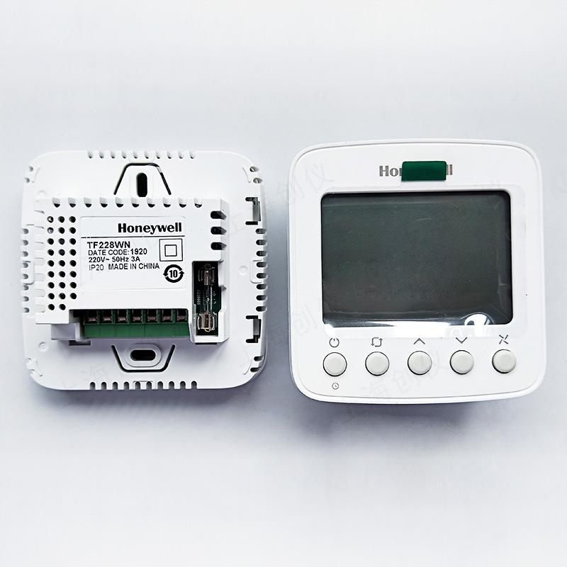 数字温控器三速风机盘管控制器TF228WN