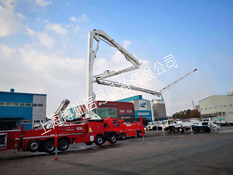 韩国 EVERDIGM 33米新型多功能举高喷射消防车(进口)