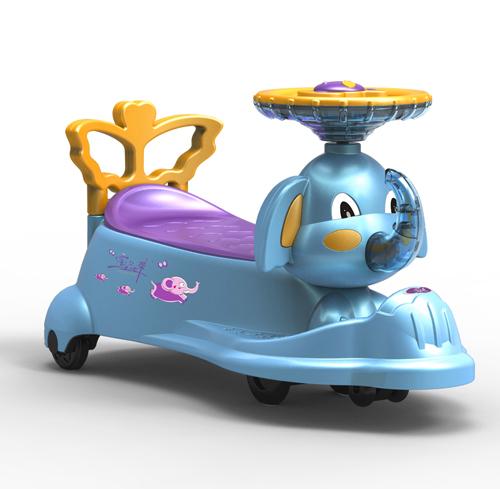 大象扭扭车设计