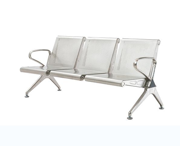不銹鋼機場椅01
