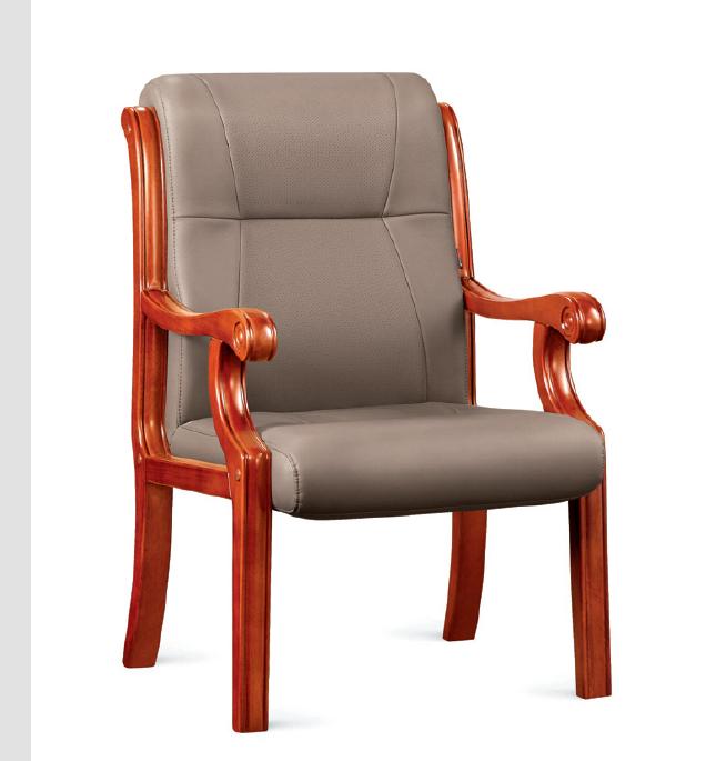 實木會議椅02