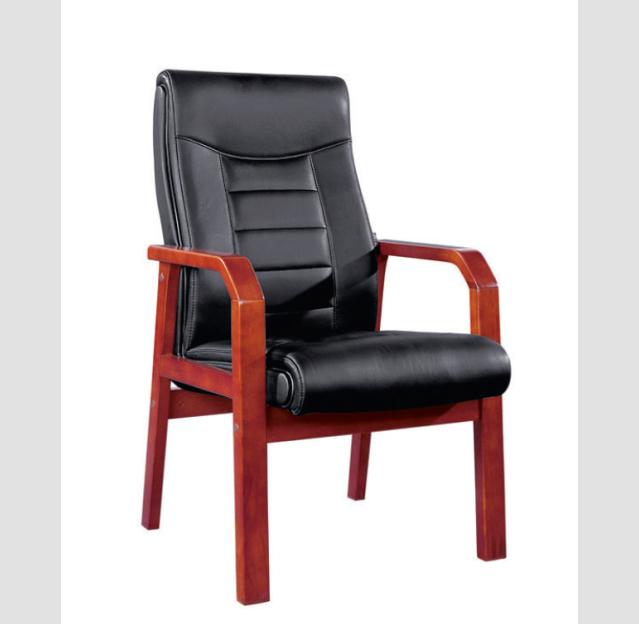 實木會議椅08