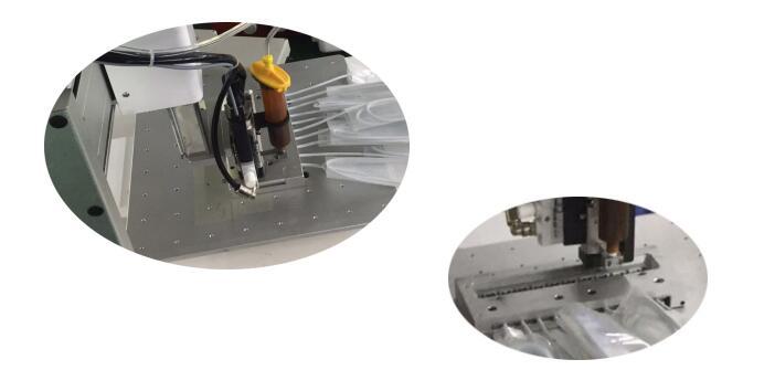 GOUNBOT三轴自动点胶平台使用案例