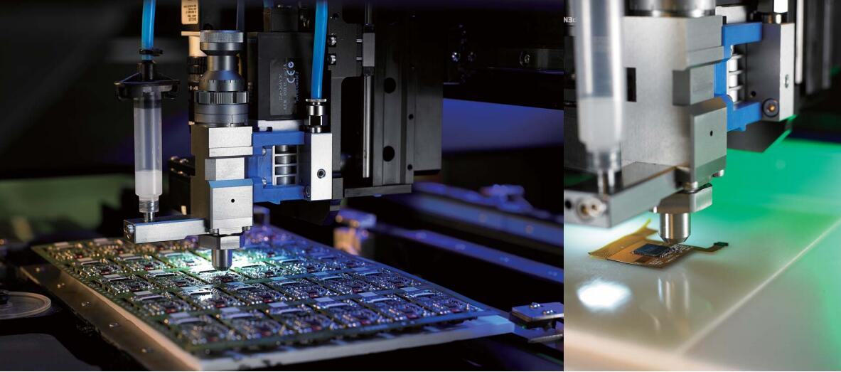 GTN-50PLC-2全自动喷射点胶系统图片